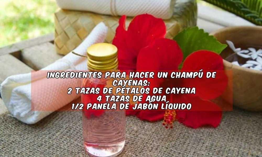 Champú de Cayenas