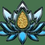 flor de loto dibujo